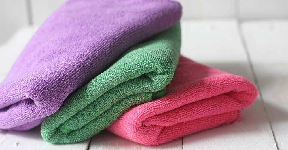 Mikrofaser Handtücher sind ideal auch für die Reise