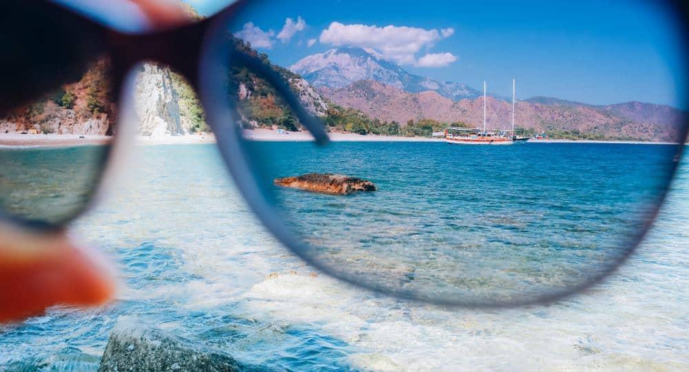 Polarisierende Sonnebrillen