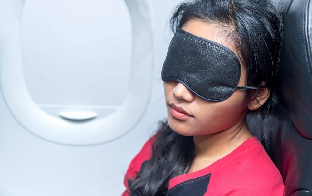 Schlafbrillen fürs Flugzeug